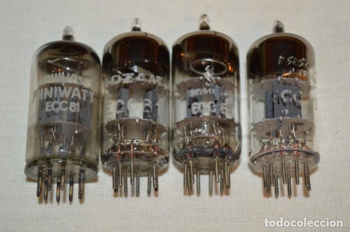 Radios antiguas: LOTE 18 VÁLVULAS / LÁMPARAS, ECC81, ECC82, ,ECC83, y más - TELEFUNKEN, MINIWATT, SIEMENS, etc.¡Mira! - Foto 2 - 181951340