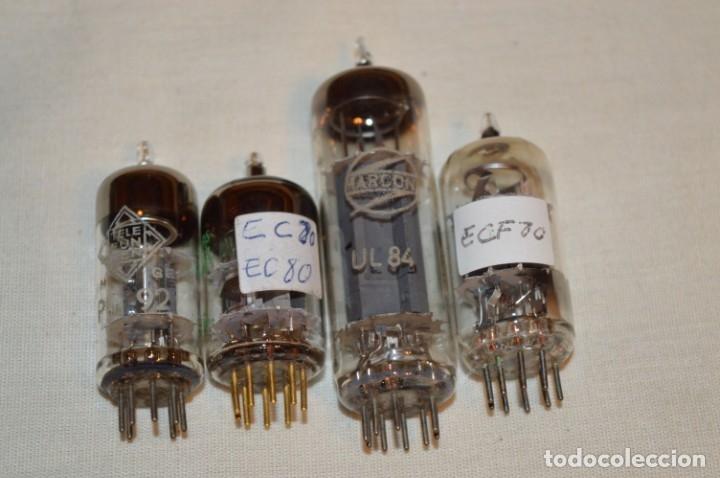 Radios antiguas: LOTE 18 VÁLVULAS / LÁMPARAS, ECC81, ECC82, ,ECC83, y más - TELEFUNKEN, MINIWATT, SIEMENS, etc.¡Mira! - Foto 9 - 181951340