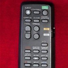 Radios antiguas: MANDO A DISTANCIA S0NY RMT-V220B PARA VIDEO Y GRABADORAS VCR/WHS SLV 330 Y SERIES (VER RELACION). Lote 182096617