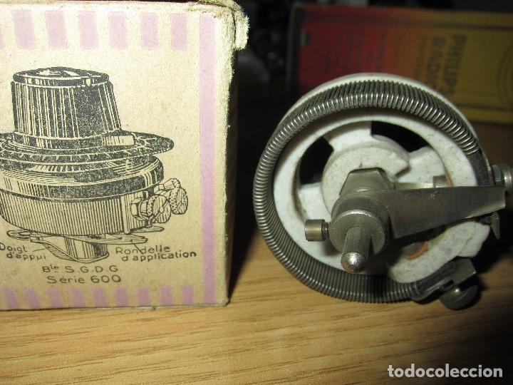 Radios antiguas: REOSTATO POTENCIOMETRO RADIO GALENA RADIO COFRE VALVULAS NUEVO EN CAJA ORIGINAL SIN USAR - Foto 3 - 182174073