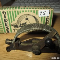 Radios antiguas: CONECTOR PALANCA REOSTATO RADIO GALENA RADIO COFRE VALVULAS NUEVO EN CAJA ORIGINAL SIN USAR. Lote 182174431