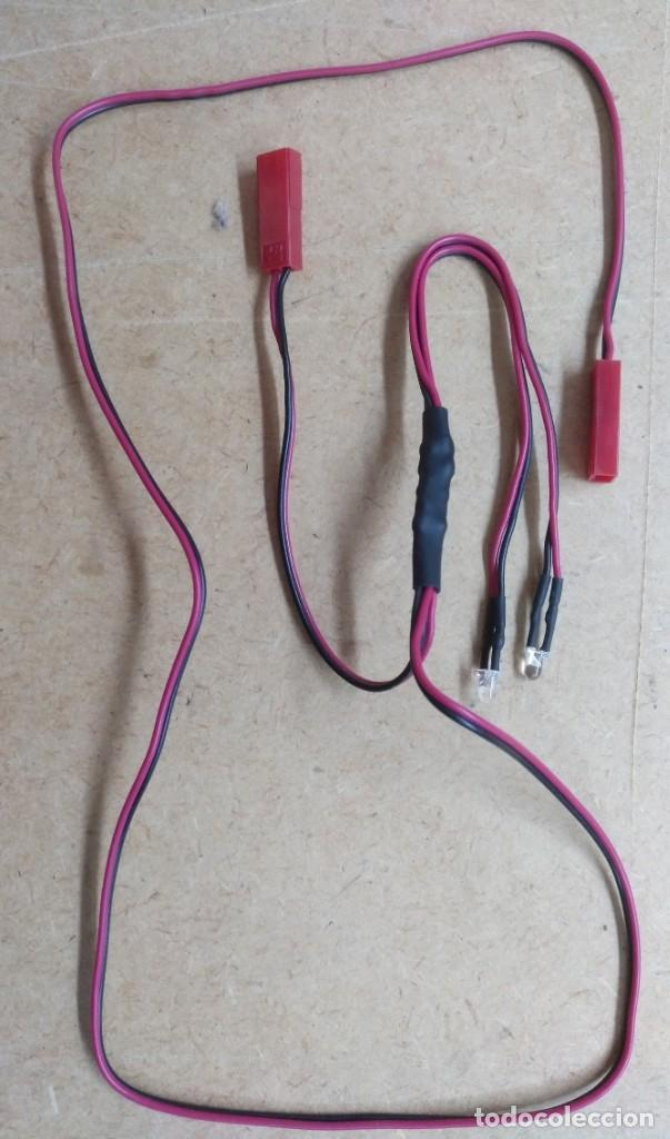ELECTRONICA, CABLE CON LUZ LED - NUEVO (Radios, Gramófonos, Grabadoras y Otros - Repuestos y Lámparas a Válvulas)