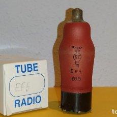 Radios antiguas: 1 X EF5-RT-NOS-TUBE.. Lote 184260823