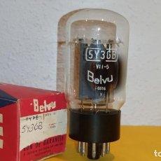 Radios antiguas: 1 X 5Y3GB-5Y3G-5Y3GT-5Y3-BELVU-NOS/NIB-TUBE.. Lote 184487695