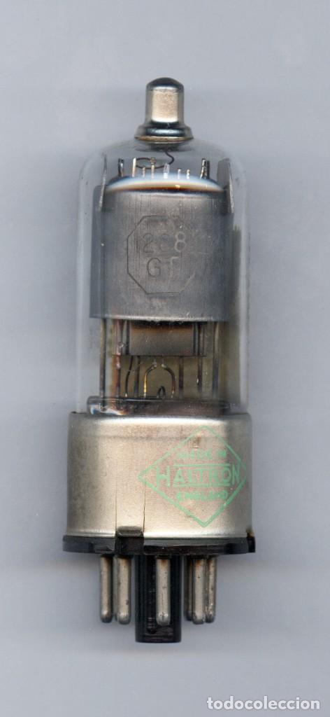 12C8GT - HALTRON - VALVULA ( ELECTRONIC TUBE ) ( NOS ) (Radios, Gramófonos, Grabadoras y Otros - Repuestos y Lámparas a Válvulas)