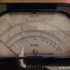 Radios antiguas: REPUESTO MEDIDOR DE PANEL PARA VTVM HP-410B - FABRICADO POR SIMPSON - NOS. Lote 184634517