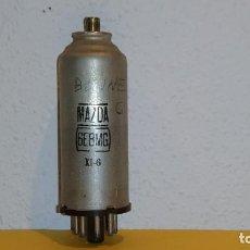 Radios antiguas: VALVULA 6E8MG-MAZDA-USADA Y PROBADA.. Lote 184660767