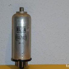 Radios antiguas: VALVULA 6M7MG-MAZDA-USADA Y PROBADA.. Lote 184660822