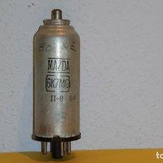 Radios antiguas: VALVULA 6K7MG-MAZDA-USADA Y PROBADA.. Lote 184660890