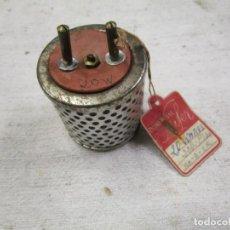 Radios antiguas: ANTIGUO REDUCTOR DE VOLTAJE 150 -110V 20W - SIN USO, PERFECTO - PARA APARATOS DE RADIO ETC + INFO. Lote 178155322