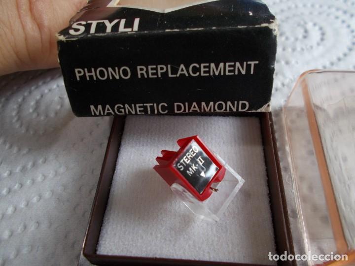 Radios antiguas: envio con tc: 3€ AGUJA PARA TOCADISCOS: philips 368 diamante stereo mk-ii Nueva - Foto 2 - 186294910