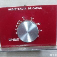 Radios antiguas: RECAMBIO, REPUESTO ELECTRONICA, RESISTENCIA DE CARGA - FUNCIONA BIEN. Lote 187087996