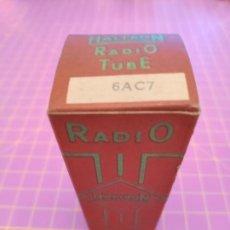 Radios antiguas: VÁLVULA 6AC7 - HALTRON - NOS TESTADA. Lote 187323445