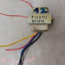 Radios antiguas: TRANSFORMADOR 220VDA/12VDA SECUNDARIO. Lote 188528127