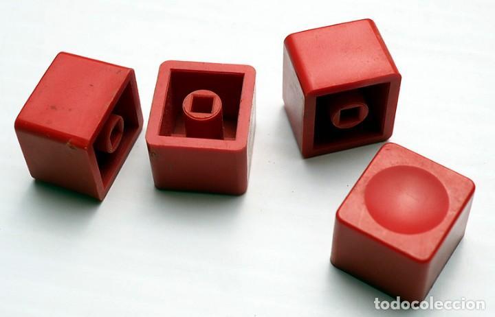4 BOTONES DE RADIO/TV ANTIGUOS (Radios, Gramófonos, Grabadoras y Otros - Repuestos y Lámparas a Válvulas)
