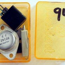 Radios Anciennes: COMPONENTES ELECTRÓNICOS ANTIGUOS. . Lote 190013760