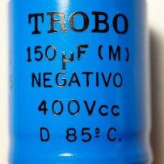 Radios antiguas: COMPONENTES ELECTRÓNICOS ANTIGUOS. CONDENSADOR TROBO. Lote 191628351