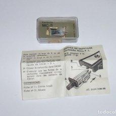 Radios antiguas: CARTUCHO - AGUJA PARA TOCADISCOS MELODYNE MC-S. Lote 192600660