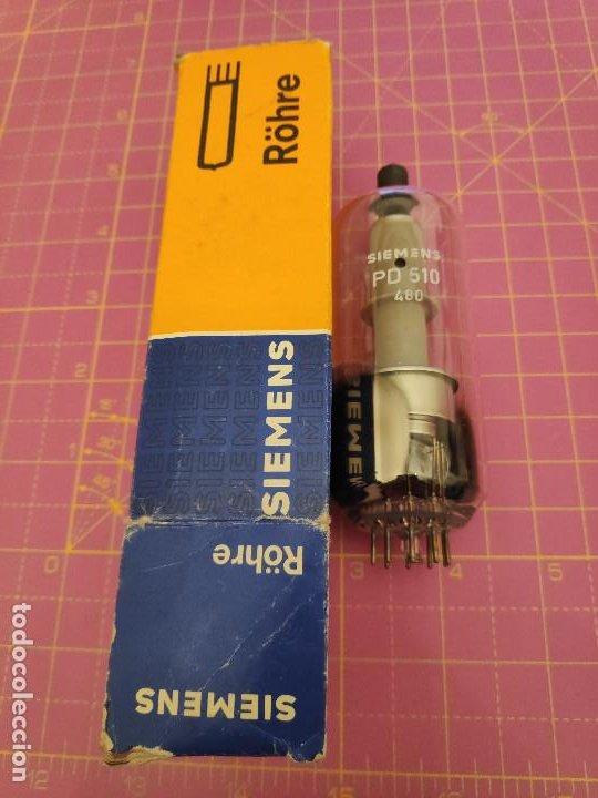 VÁLVULA PD510 - SIEMENS - NUEVA (Radios, Gramófonos, Grabadoras y Otros - Repuestos y Lámparas a Válvulas)