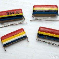 Radios antiguas: COMPONENTES ELECTRÓNICOS ANTIGUOS. . Lote 194214455