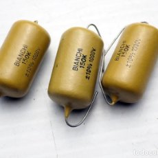 Radios antiguas: COMPONENTES ELECTRÓNICOS ANTIGUOS. . Lote 194214787