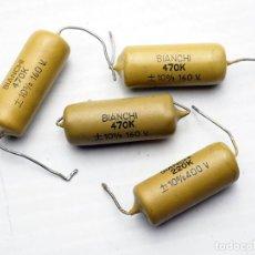 Radios antiguas: COMPONENTES ELECTRÓNICOS ANTIGUOS. . Lote 194215370