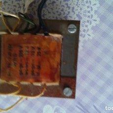 Radios antiguas: 2 TRANSFORMADORES DE RADIOS DE VÁLVULAS Y TV, 220V Y 110V. Lote 194618990
