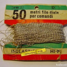 Radios antiguas: CUERDA INELÁSTICA PARA DIAL DE RADIO ANTIGUA....SANNA. Lote 194650448