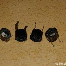 Radios antiguas: 4 PORTALAMPARAS DIAL. Lote 194731531