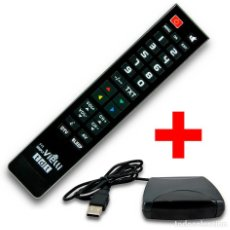 Radios antiguas: MANDO DISTANCIA PROGRAMABLE PARA TV O TDT CONTROL REMOTO + REGALO PROGRAMADOR ¡NUEVO!. Lote 195326421