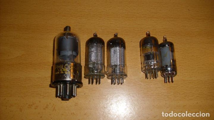 ANTIGUAS VÁLVULAS DIFERENTES MARCAS Y REFERENCIAS MARCONI PHILCO (Radios, Gramófonos, Grabadoras y Otros - Repuestos y Lámparas a Válvulas)