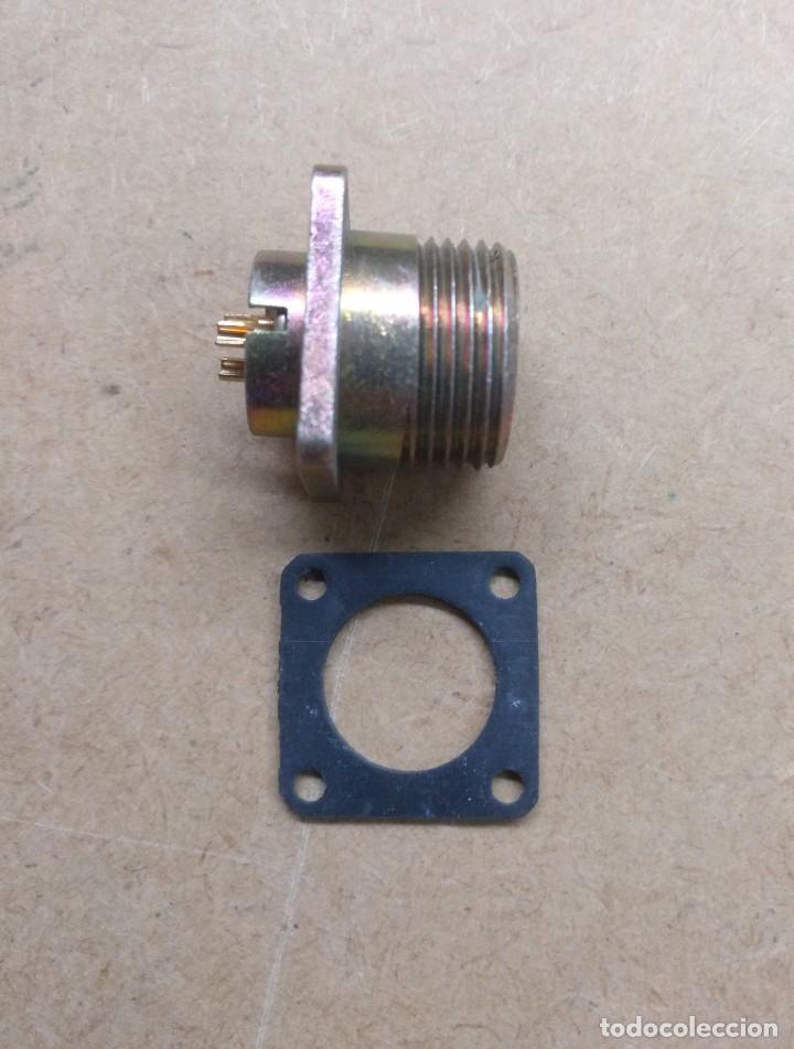 Radios antiguas: electronica, conector obase de antena creo de rafioaficionado - Foto 2 - 196795012