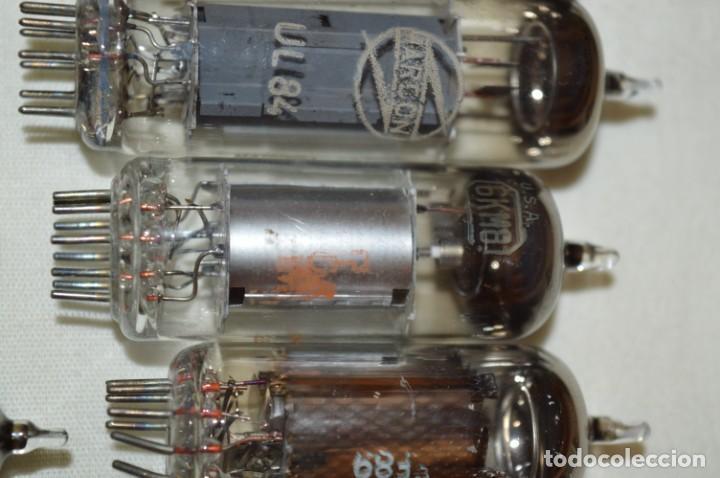 Radios antiguas: 13 VÁLVULAS / LÁMPARAS, ECC80 / ECC 80 y otros tipos / TELEFUNKEN / MARCONI / MINIWATT y otras marca - Foto 3 - 196805015