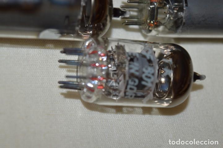 Radios antiguas: 13 VÁLVULAS / LÁMPARAS, ECC80 / ECC 80 y otros tipos / TELEFUNKEN / MARCONI / MINIWATT y otras marca - Foto 9 - 196805015
