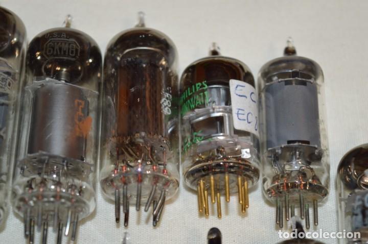 Radios antiguas: 13 VÁLVULAS / LÁMPARAS, ECC80 / ECC 80 y otros tipos / TELEFUNKEN / MARCONI / MINIWATT y otras marca - Foto 11 - 196805015