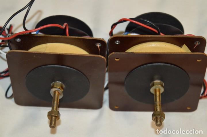 Radios antiguas: VINTAGE / ANTIGUO - Pareja de filtros de 2 vías, de antiguos bafles - ¡Mira fotos y detalles! - Foto 6 - 197869056