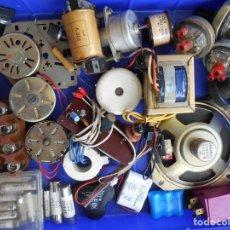 Radios antiguas: LOTE DE COMPONENTES ELÉCTRICOS .MOTORES SEGÚN FOTO.. Lote 198405252