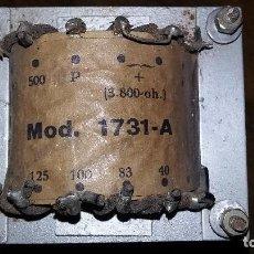 Radios antiguas: TRANSFORMADOR SALIDA EL34. LINEA 100 VOLTIOS.. Lote 198734550