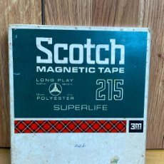 Radios antiguas: SCOTCH MAGNETIC TAPE 215 LONG PLAY 3M COMPANY. Lote 204014612