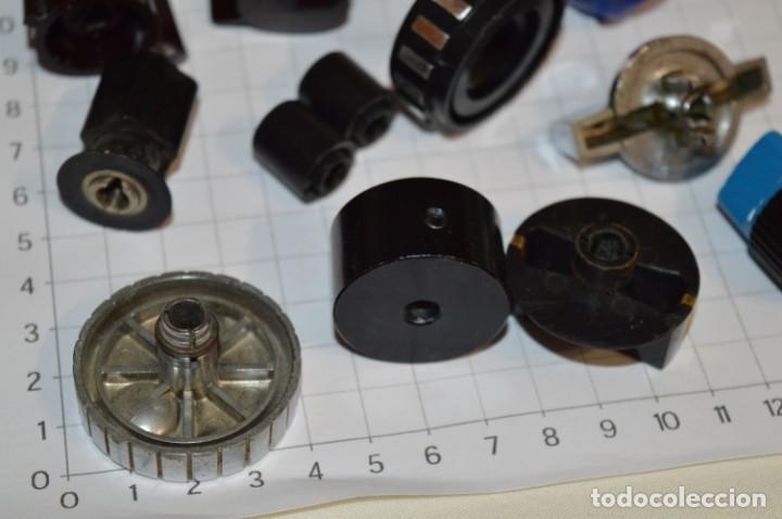 Radios antiguas: Lote BOTONES / BOTONERAS - Para RADIOS y EQUIPOS ANTIGUOS - Repuestos variados - ¡Mira! / Lote 16 - Foto 10 - 204409330