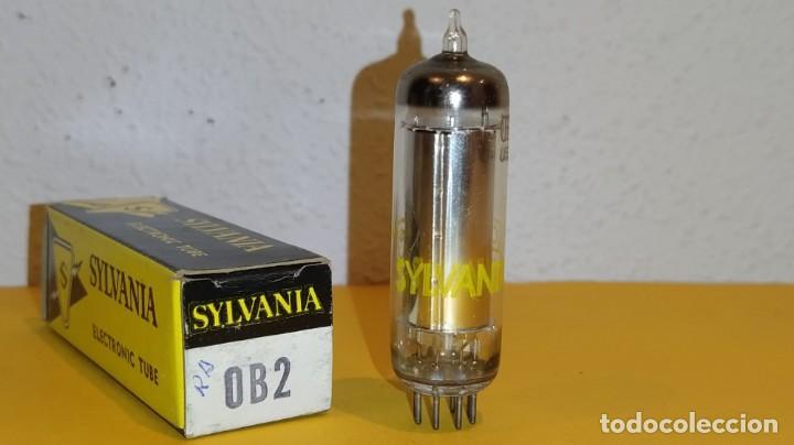 1 X 0B2-SYLVANIA-NUEVA-NOS/NIB-TUBE. (Radios, Gramófonos, Grabadoras y Otros - Repuestos y Lámparas a Válvulas)