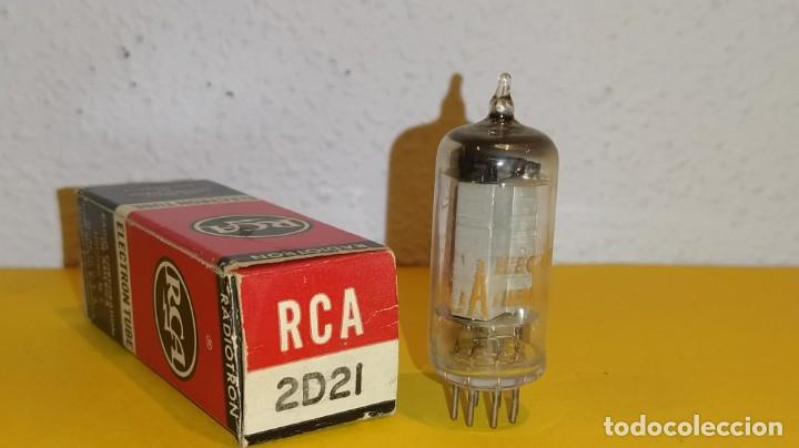 1 X 2D21-RCA-NUEVA-NOS/NIB-TUBE. (Radios, Gramófonos, Grabadoras y Otros - Repuestos y Lámparas a Válvulas)