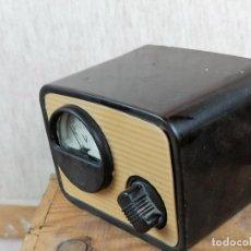 Radios antiguas: ELEVADOR REDUCTOR PARA RADIO EN BAQUELITA. Lote 205379871