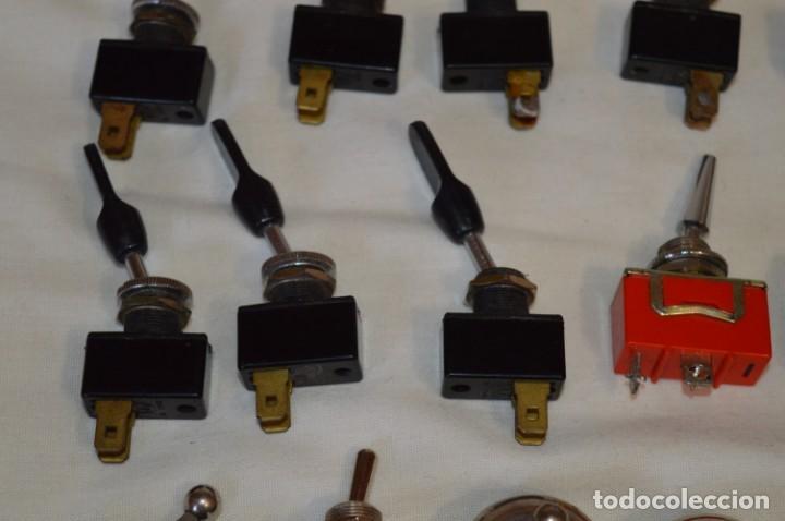 Radios antiguas: Lote CONMUTADORES / INTERRUPTORES - Para RADIOS y EQUIPOS ANTIGUOS - ¡Mira! / Lote 33 - Foto 5 - 206325893