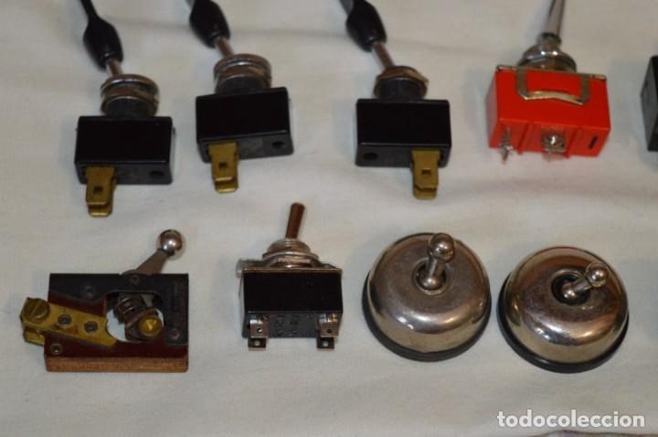 Radios antiguas: Lote CONMUTADORES / INTERRUPTORES - Para RADIOS y EQUIPOS ANTIGUOS - ¡Mira! / Lote 33 - Foto 7 - 206325893
