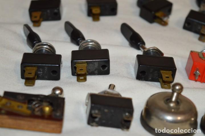 Radios antiguas: Lote CONMUTADORES / INTERRUPTORES - Para RADIOS y EQUIPOS ANTIGUOS - ¡Mira! / Lote 33 - Foto 11 - 206325893