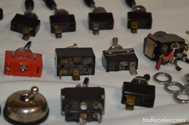 Radios antiguas: Lote CONMUTADORES / INTERRUPTORES - Para RADIOS y EQUIPOS ANTIGUOS - ¡Mira! / Lote 33 - Foto 12 - 206325893
