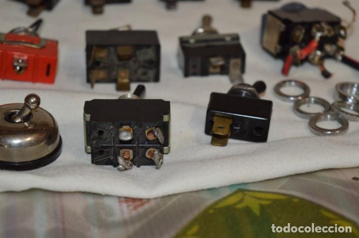 Radios antiguas: Lote CONMUTADORES / INTERRUPTORES - Para RADIOS y EQUIPOS ANTIGUOS - ¡Mira! / Lote 33 - Foto 14 - 206325893