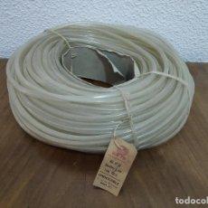 Rádios antigos: ANTIGUO TUBO DE PVC PARA CANALIZACIÓN DE CABLEADO DE ELECTRÓNICA - 7MM DIÁMETRO - 100 METROS. Lote 208214147