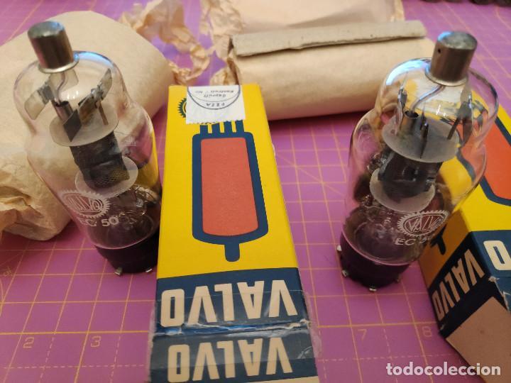 Radios antiguas: Dos válvulas EC50 - Valvo - Nuevas - Testadas - Mismo código - Foto 2 - 208242500